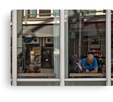 caffé Canvas Print