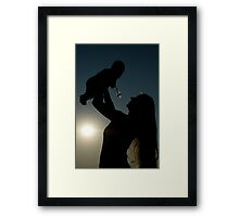 Love At First Light... Free State, South Africa Framed Print