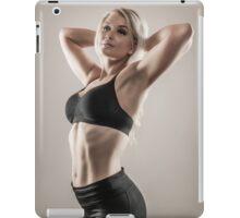 Fitness woman iPad Case/Skin