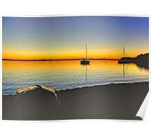 Lake Macquarie Sunrise Poster
