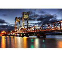 Clyde River Bridge Photographic Print