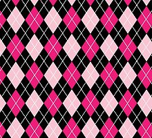 Pink Argyle by galacticrad
