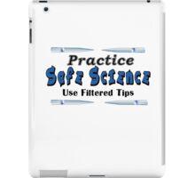 Practice Safe Science iPad Case/Skin