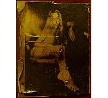 nude in liquid light Photographic Print