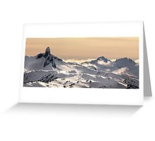 Black Tusk, BC Greeting Card