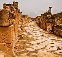 Streets of Sabratha by Craig Hender