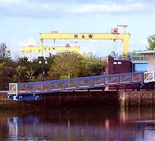Belfast Docks (9) by SNAPPYDAVE
