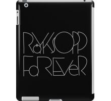 Forever (White Text 1) iPad Case/Skin