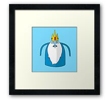 Ice King, Adventure Time Framed Print