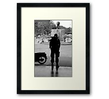 Going Home - Chang Mai, Thailand Framed Print