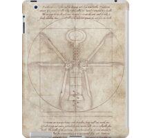 Da Vinci's Real Screw Invention iPad Case/Skin