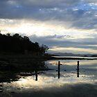 View to Mt wellington - Dodges Ferry, Tasmania by Eve creative photografix