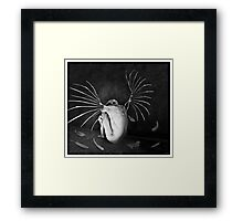 The Last Angel Framed Print