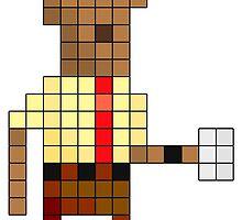 IT Crowd - Moss - Pixel Art by NineLineMan