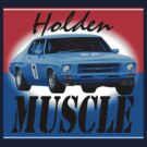Holden Muscle Car by zoompix