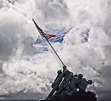 Iwo Jima Memorial by DJ Florek