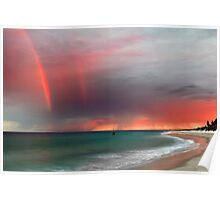 Cottesloe Beach Sunrise Poster