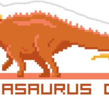 Pixel Amargasaurus Sticker