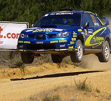 Subaru Warrior by Peter Evans