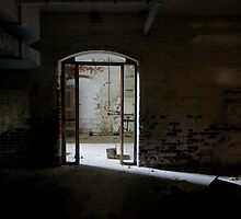 arched tunnel door by rob dobi