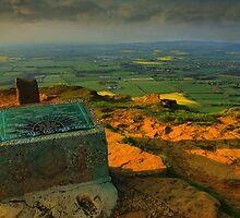 Alec Falconer View Marker Cringle Moor  by Stewart Laker