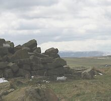 Hadrian's Wall Tumbling Down by Cleburnus