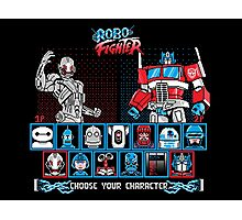 Robo Fighter shirt mug pillow iPhone 6 case leggings Photographic Print