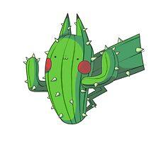 Cactus Pikachu by Daanrekers