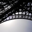 detail eiffel tower by deborah parker
