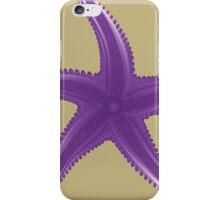 Violet starfish iPhone Case/Skin
