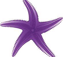 Violet starfish by AnnArtshock