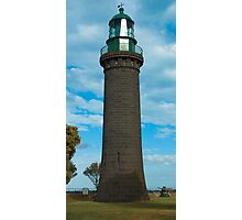The Black Lighthouse, Fort Queenscliff, Australia Photographic Print