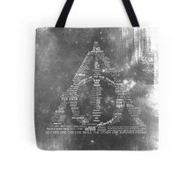 You're a wizard, Harry - Deathly Hallows Version Tote Bag