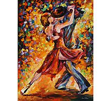 IN THE RITM OF TANGO limited edition giclee of L.AFREMOV painting Photographic Print