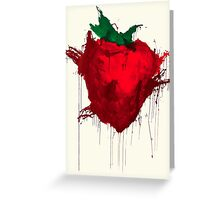 Strawberry from Across the universe Greeting Card