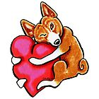 Basenji Love by offleashart
