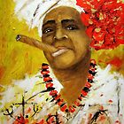 The Santeria Woman by amoxes