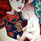Mother and child by vickymount