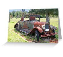 """1927 Pontiac 6"" Greeting Card"