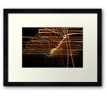 Crazy City 58 Framed Print