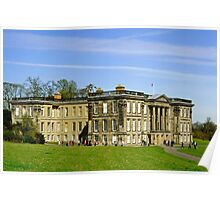 Calke Abbey House Poster