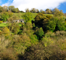Across The Southern End of Monk's Dale Sticker