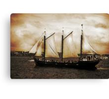 Tall Ship Silva Canvas Print