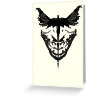 Batman Chronicle Greeting Card
