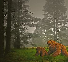 Bears in the Forest. by George Petrovsky