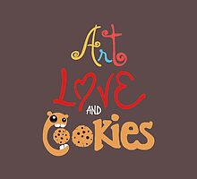 Art Love and Cookies by thelabcreation