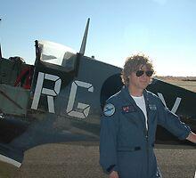 Plane & Pilot: Lowy & Spitfire, Australia 2007 by muz2142