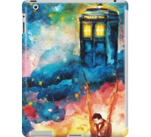 The Man Who Lived On A Cloud - Doctor Who iPad Case/Skin