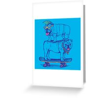 Double Dog Dare Greeting Card