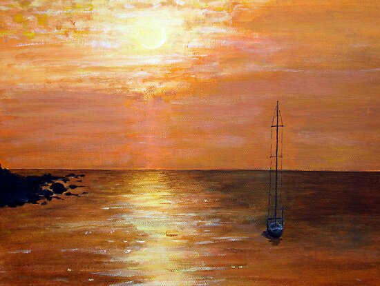 Sailing by Carole Russell